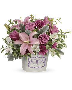 Teleflora's Monarch Garden Bouquet