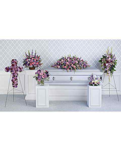 Teleflora's Lavender Tribute Collection
