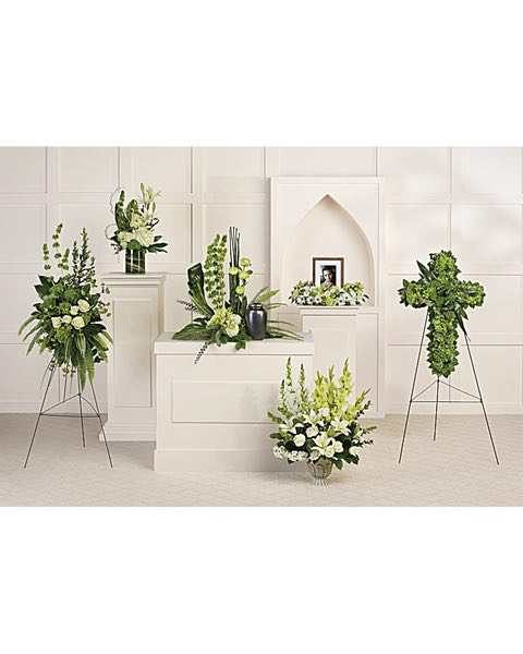 Teleflora's Tranquil Peace Collection
