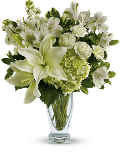 Teleflora's Purest Love Bouquet