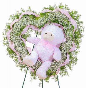 Tiny Angels Wreath - Pink