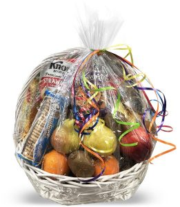 Gourmet Fruit Candy Basket