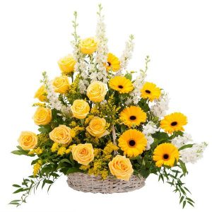 Ray of Sunshine Basket Tribute
