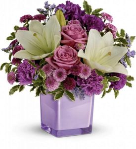 Teleflora's Pleasing Purple Bouquet - C