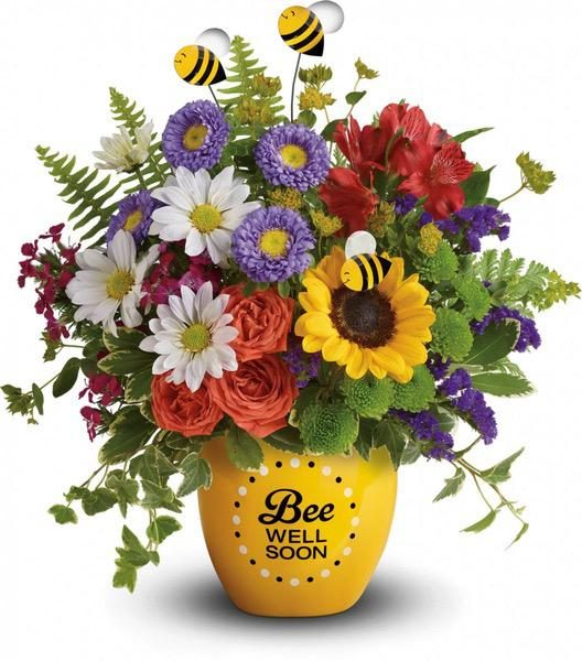 Teleflora's Garden Of Wellness Bouquet - A