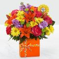 The FTD® Set to Celebrate™ Birthday Bouquet - P