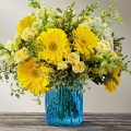 The FTD® Something Blue™ Bouquet by Better Homes & Gardens® - E