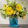 The FTD® Something Blue™ Bouquet by Better Homes & Gardens® - P