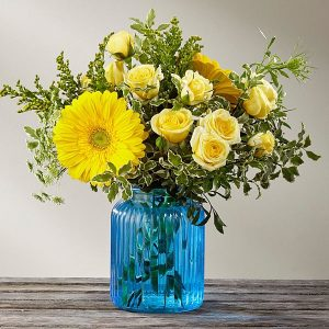 The FTD® Something Blue™ Bouquet by Better Homes & Gardens®