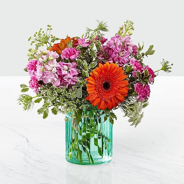 The FTD® Aqua Escape™ Bouquet by Better Homes & Gardens®
