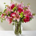 The FTD® Pink Posh™ Bouquet - E