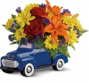 Vintage Ford Pickup Bouquet by Teleflora