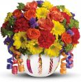Teleflora's Brilliant Birthday Blooms - B