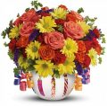 Teleflora's Brilliant Birthday Blooms - C