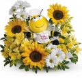 Teleflora's Bee Well Bouquet - B