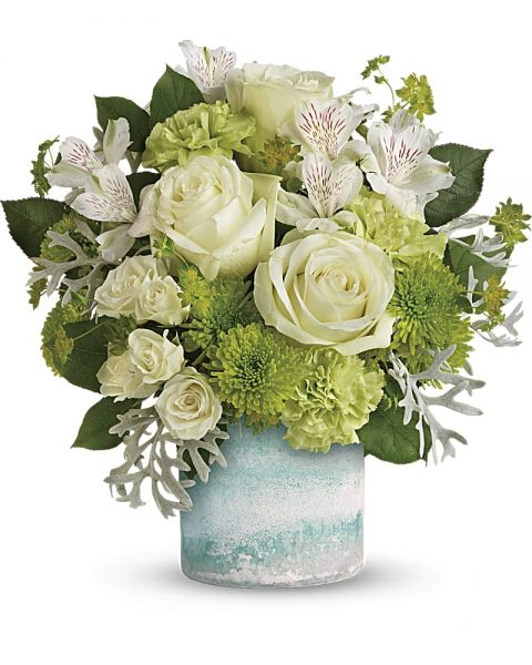 Teleflora's Seaside Roses Bouquet