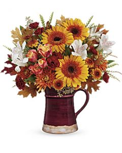 Teleflora's Blooming Fall Bouquet