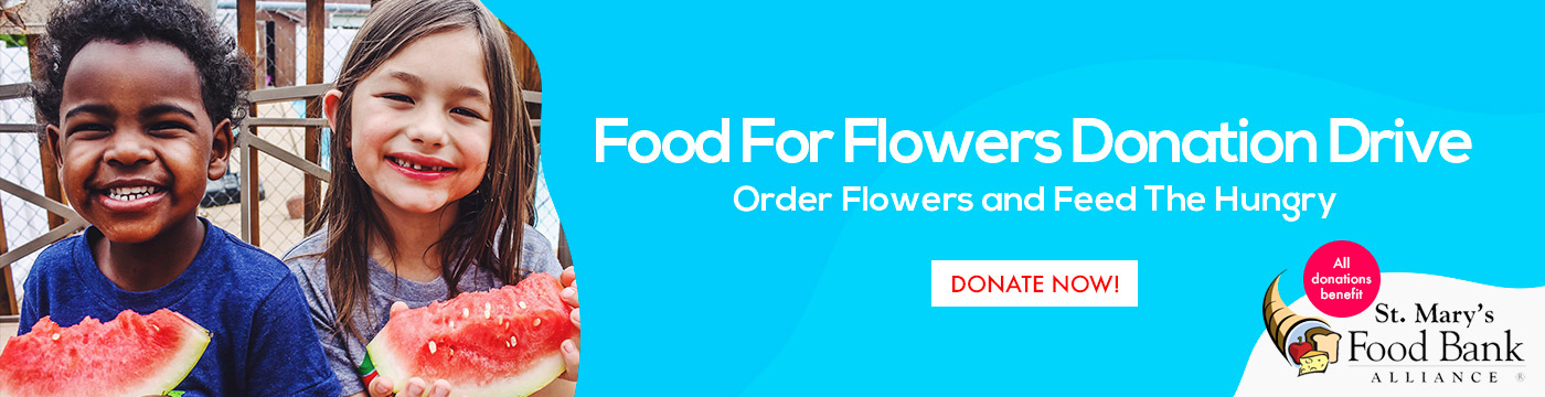 Food For Flowers Donation Drive